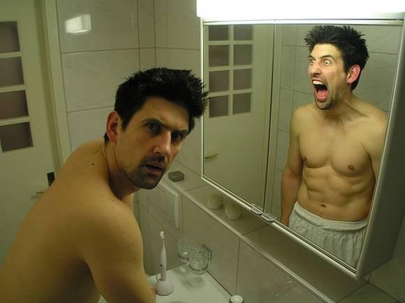 Приколы: Приколы с зеркалом (далее 25 фото)