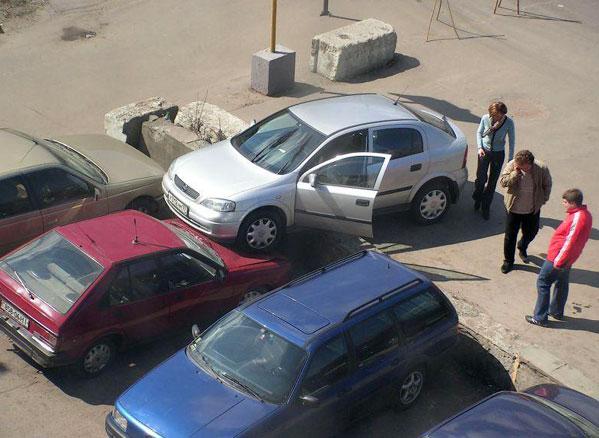Приколы: Хорошая парковка ;))