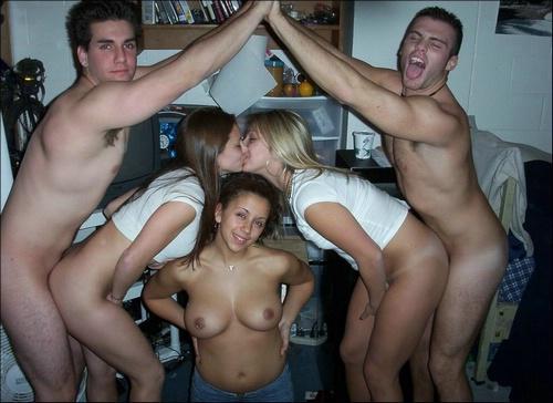 Приколы: студенческая вечеринка (далее 23 фото)