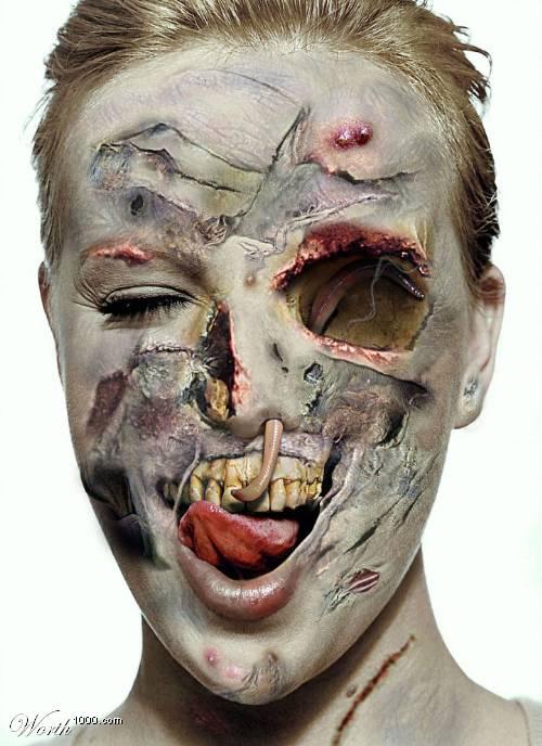 Приколы: Из зв?зд сделали зомби. Фотошоп (далее 8 фото)