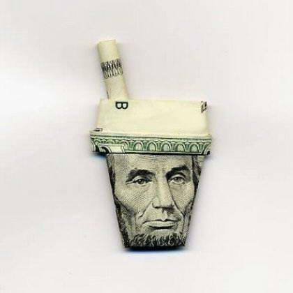Картинки, Приколы, Разное: Люди из денег... Прикольно !!! (19 фото)