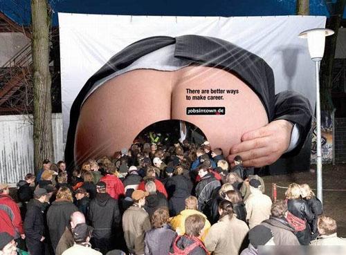 Приколы: Прикольные рекламные акции (далее 5 фото)