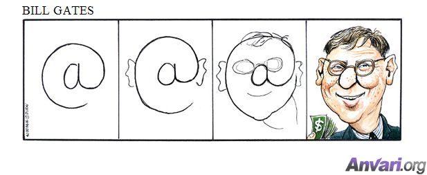 Картинки, Приколы: Вот как правильно рисовать знаменитостей (далее 4 фото)