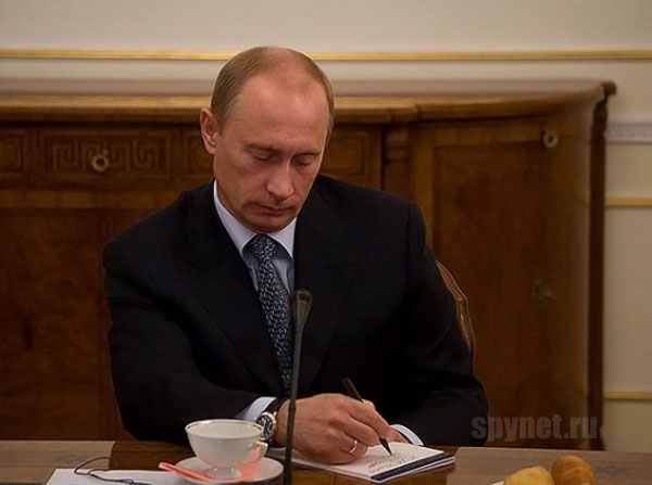 Приколы: Что пишет Владимир Владимирович (1 фото)