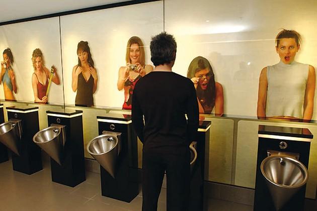 Приколы: Современные интерьеры туалетных комнат (8 фото)