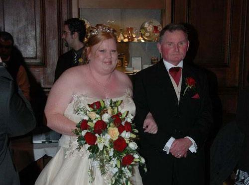 Приколы: Красивая свадебная пара (2 фото)