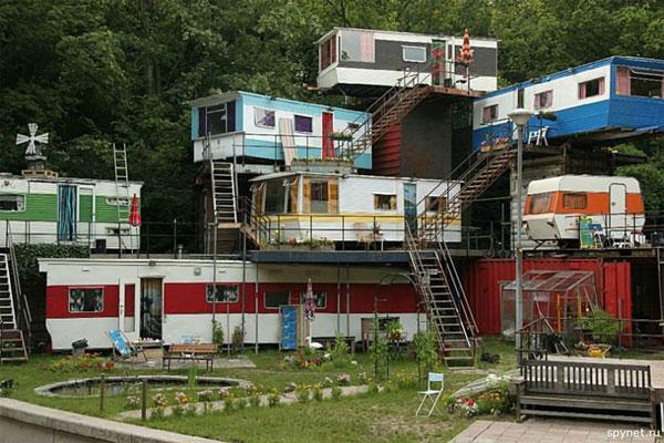 Приколы: Новое элитное жилье в Москве (2 фото)
