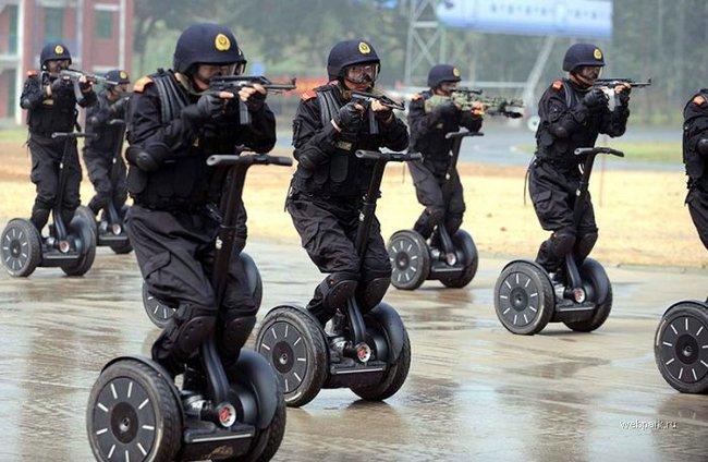Приколы: Китайский спецназ (1 фото)