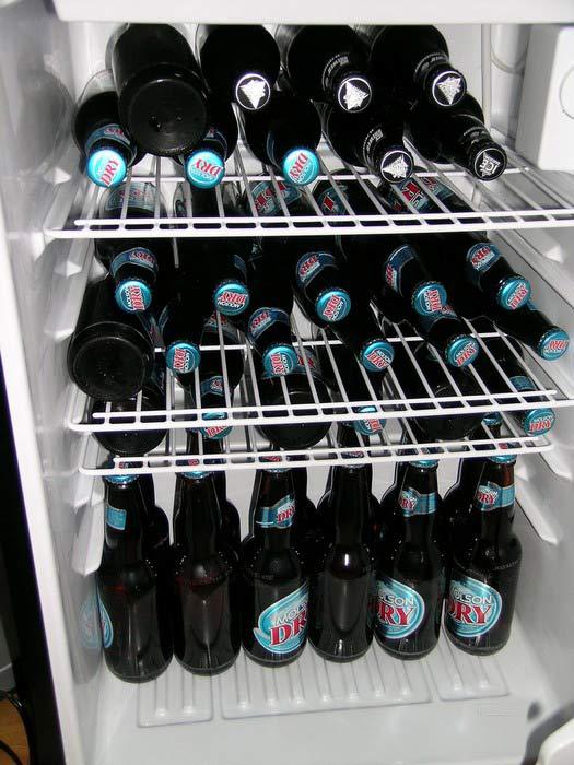 Приколы: У кого что в холодильнике (20 фото)