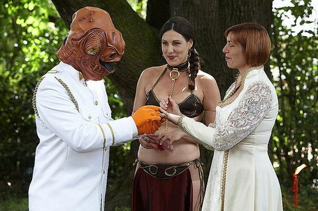 Приколы: Угадайте, что это? Правильно, свадьба!!! (11 фото)