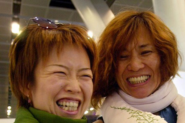 Приколы: Гениальный шарфик от Японцев (2 фото)