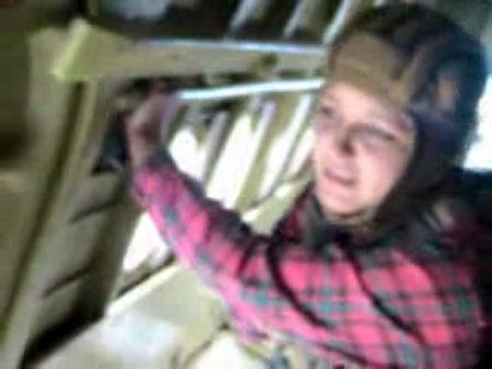 Приколы, Видео: Первый прыжок с парашютом