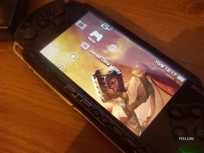Приколы: Китайцы немного переделали PSP