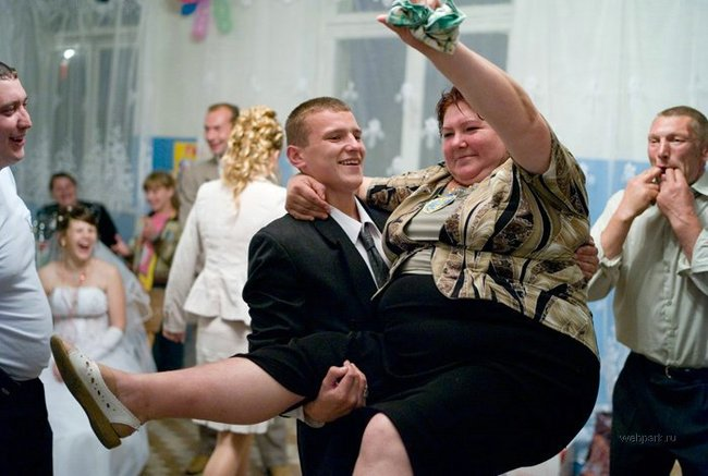 Приколы: Настоящая свадьба (19 фото)