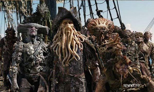 Приколы: Во что были одеты Пираты Карибского моря (1 фото)