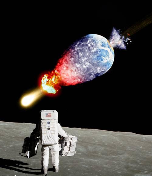 Приколы: Неудачный запуск Коллайдера (16 фотожаб)