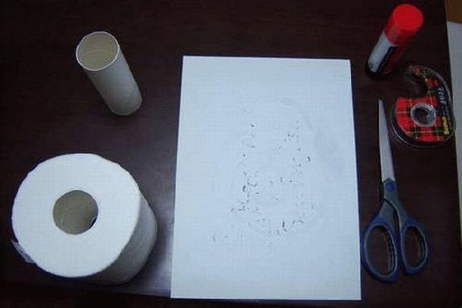 Приколы: Туалетная бумага на 1 апреля