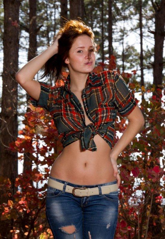 Девушки: Эротическая модель Зарина (21 фото)
